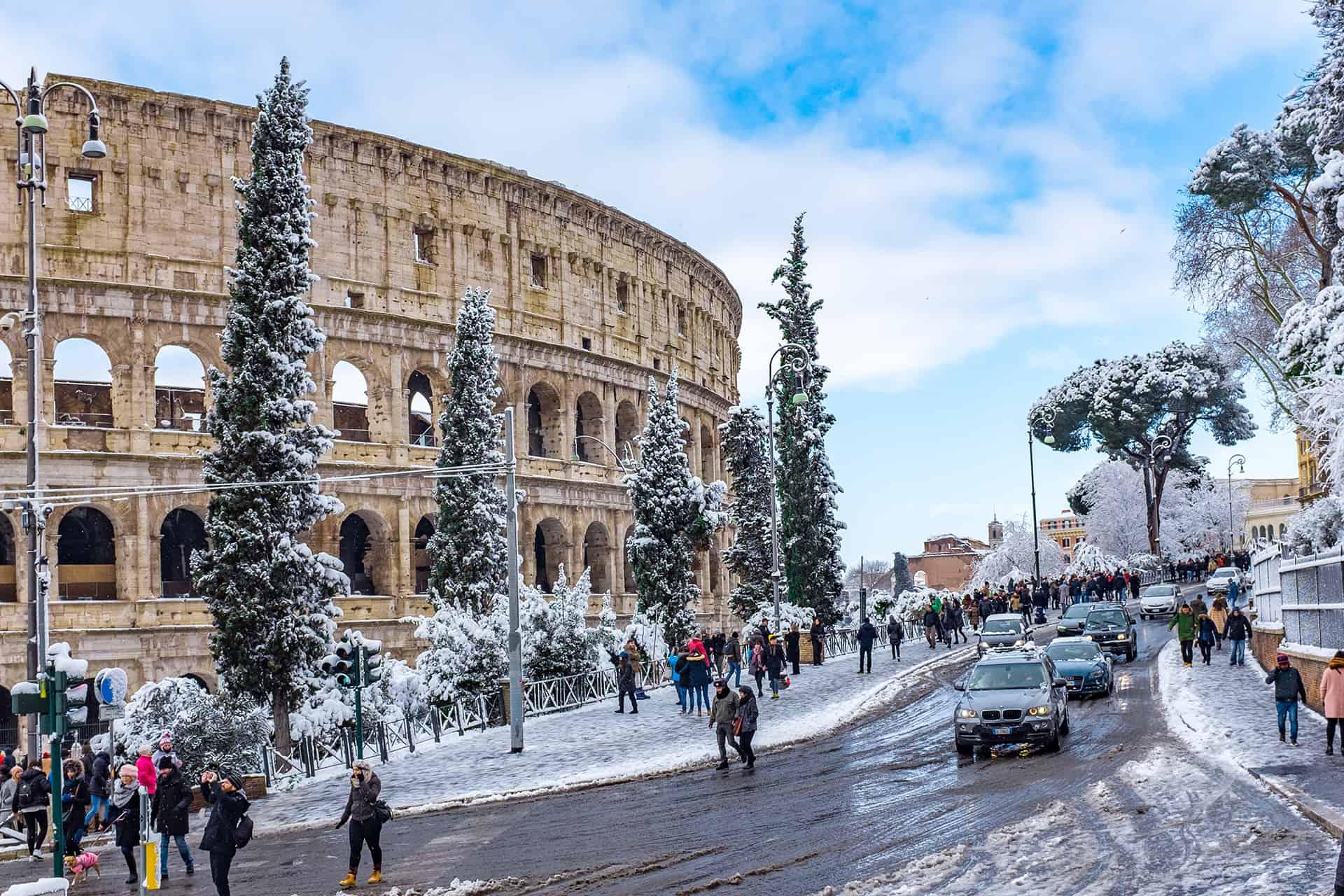 visiter rome en hiver