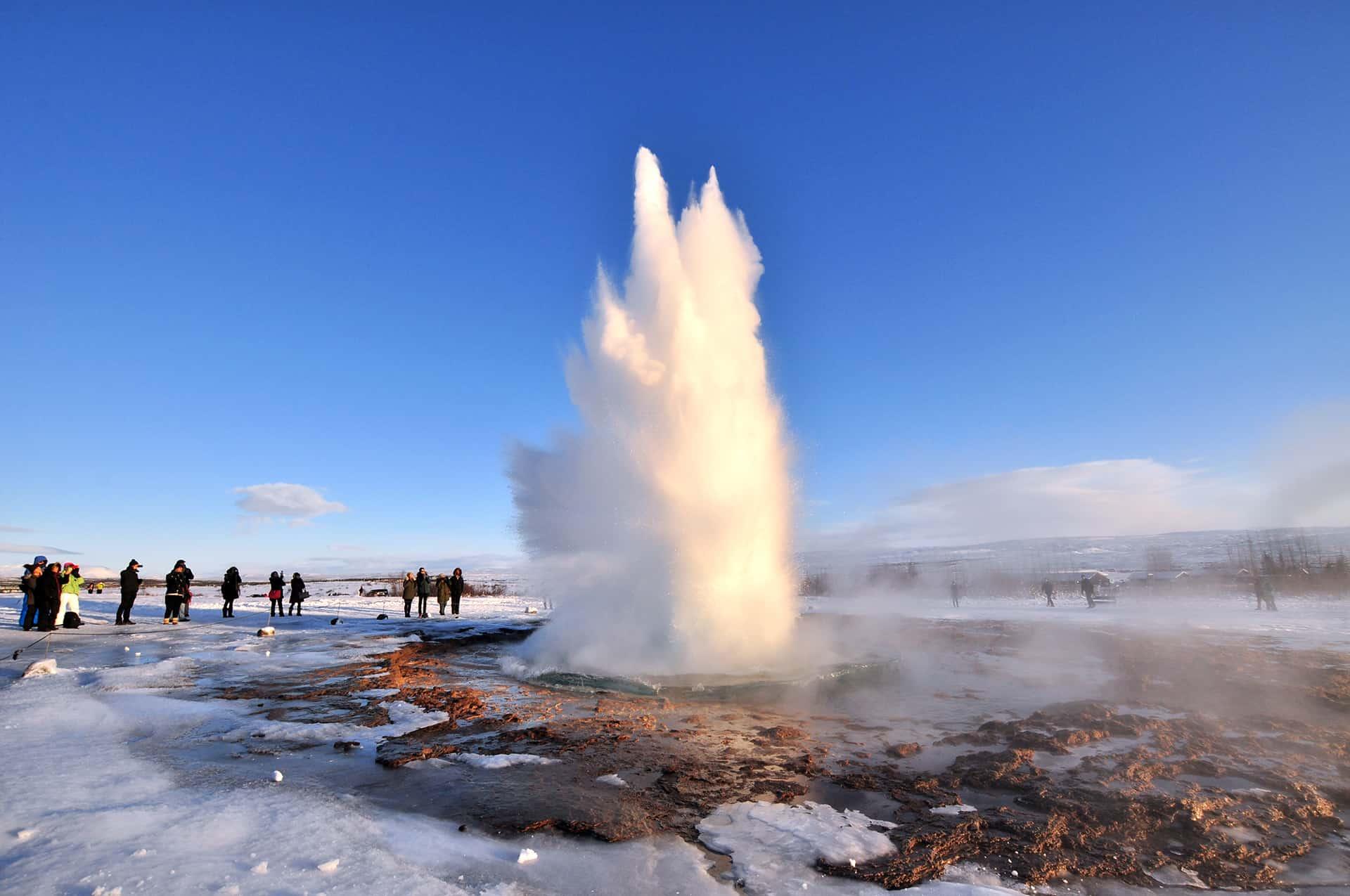 voir geysers stokkur