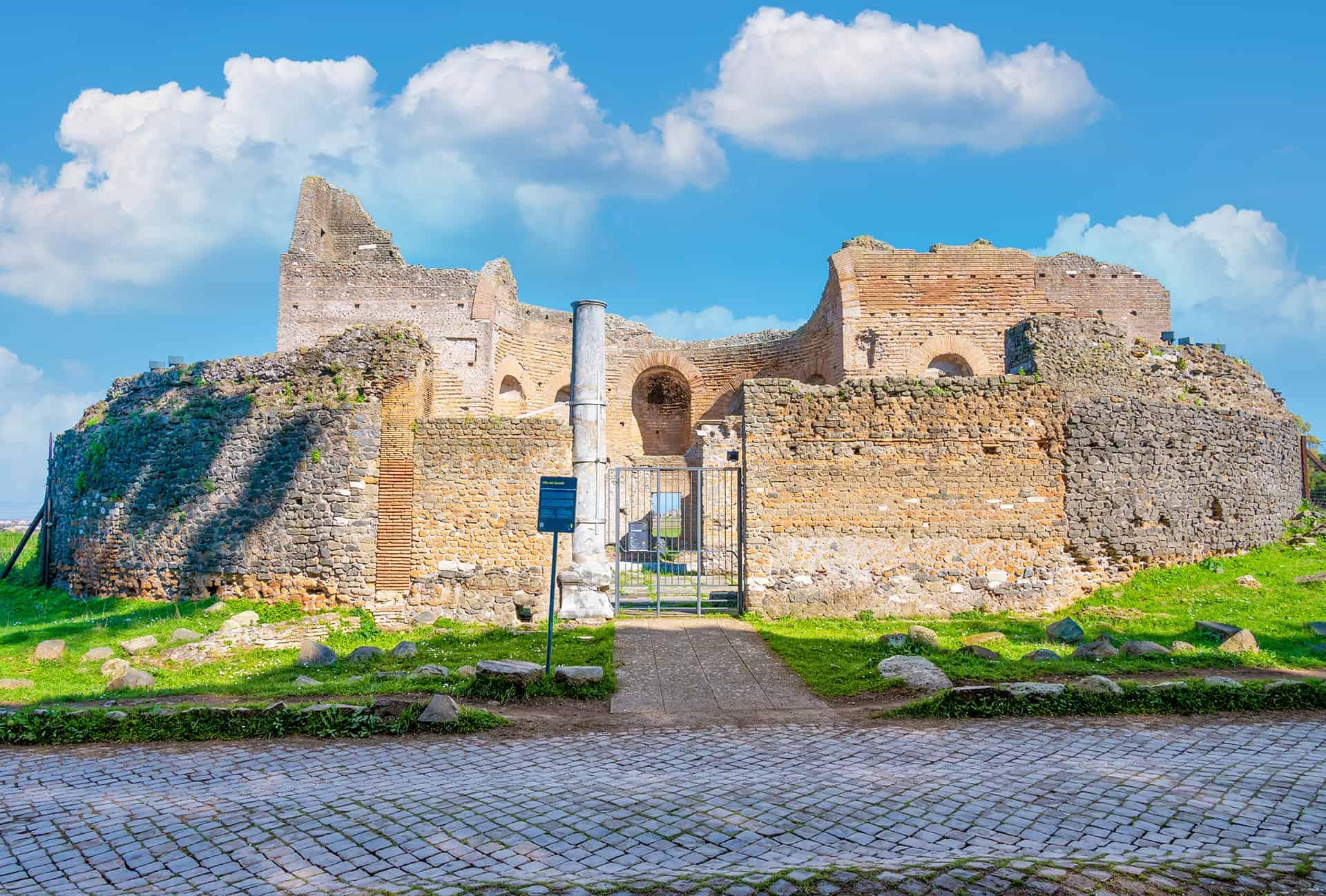 catacombes via appia antica