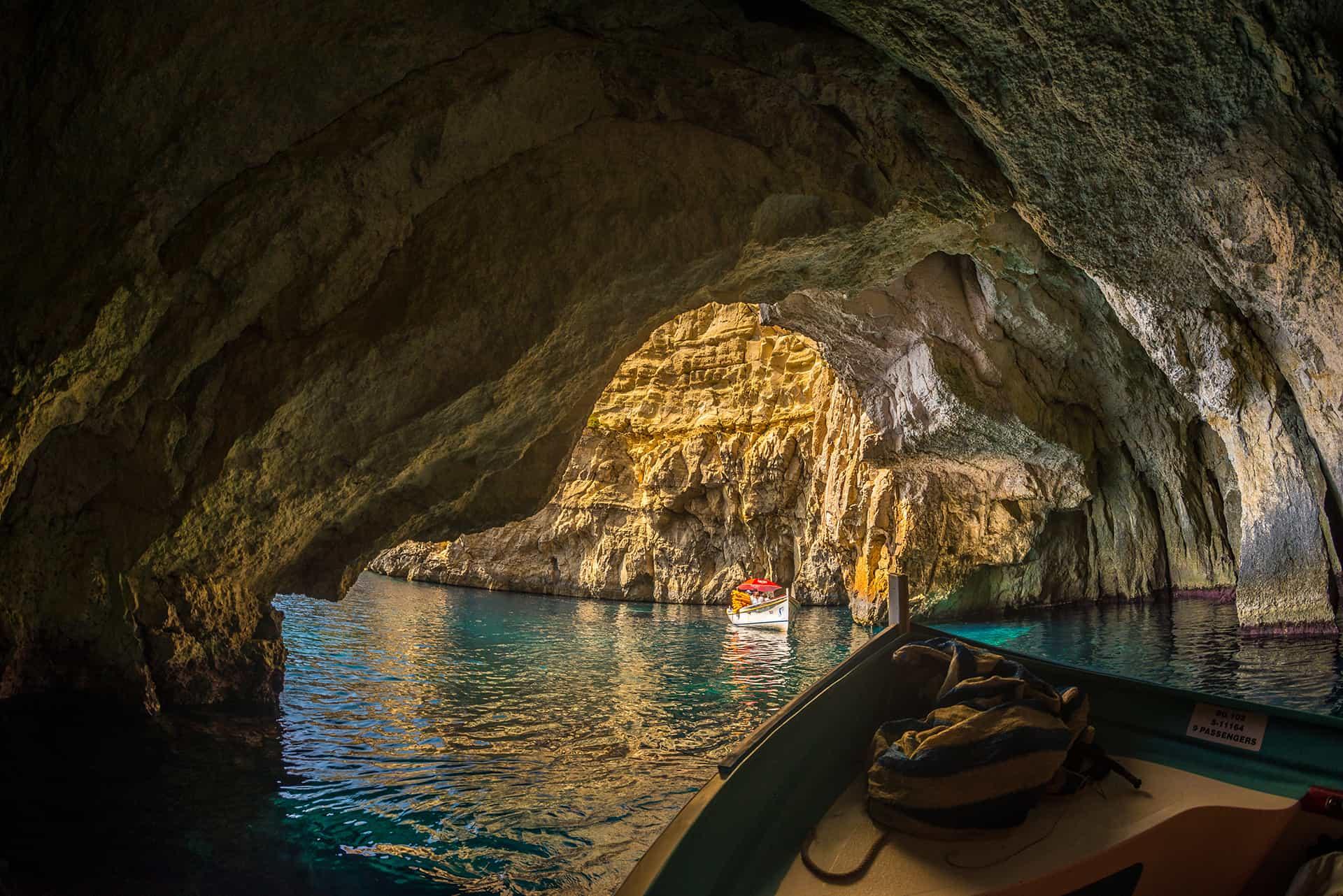 excursion grotte bleue malte