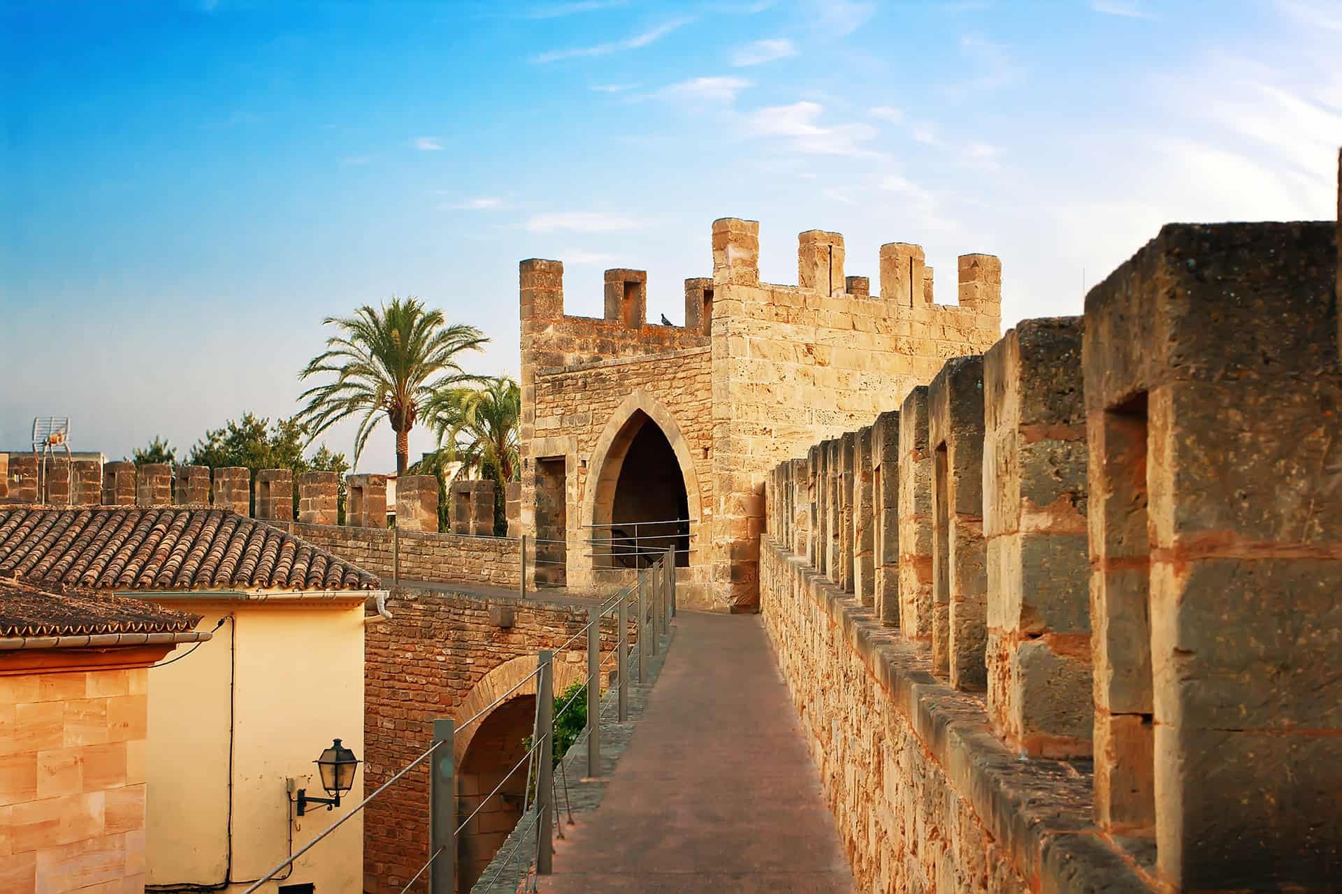 fortifications alcudia