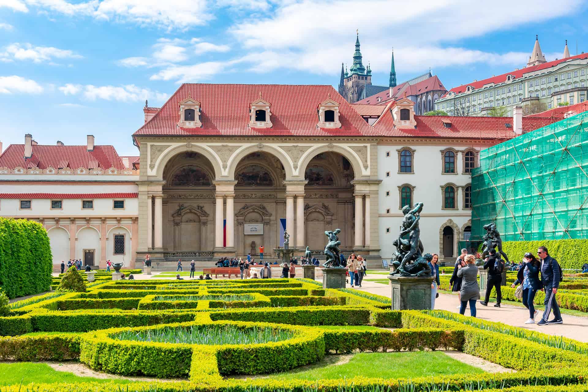 jardins palais wallenstein