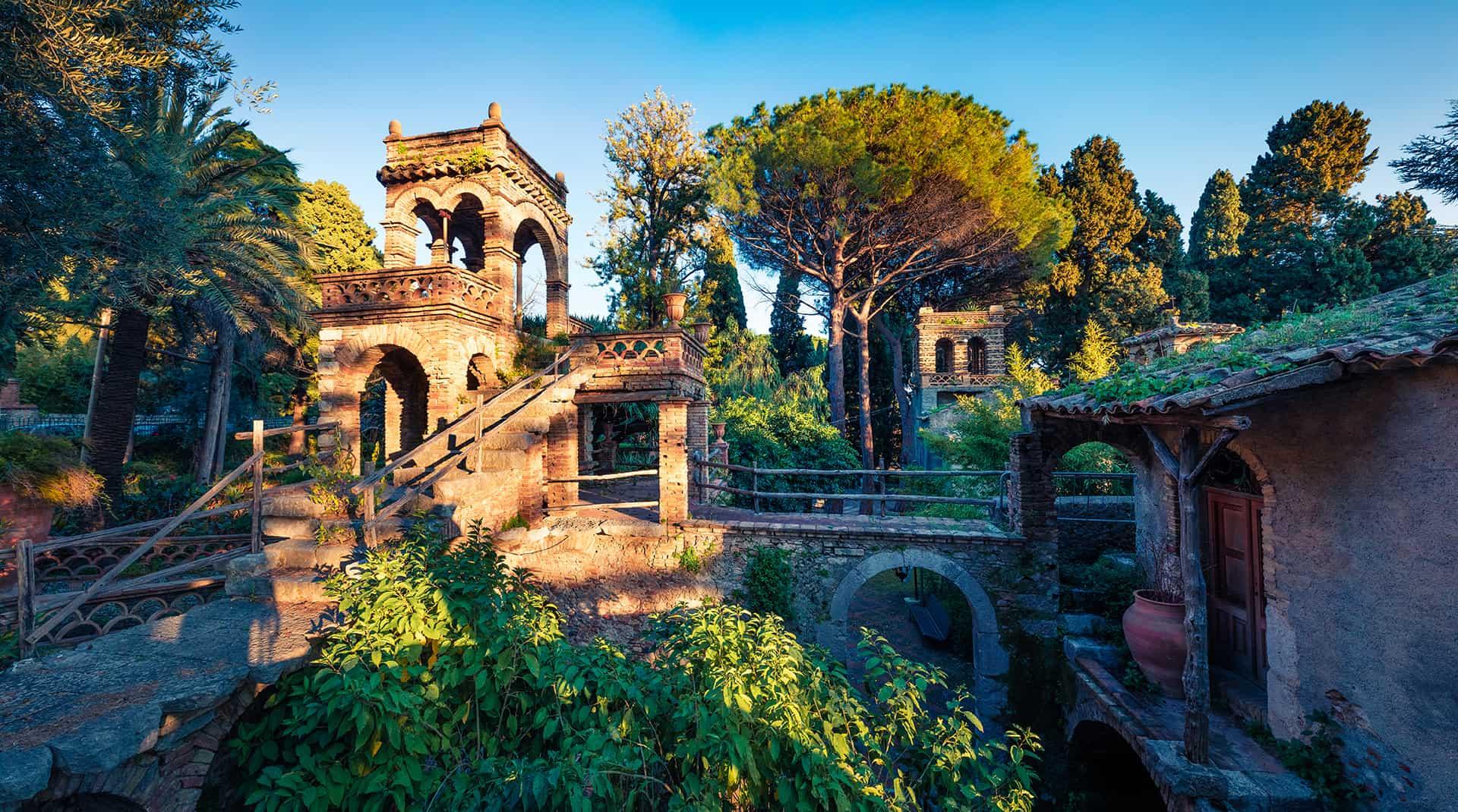 jardins villa communale taormina