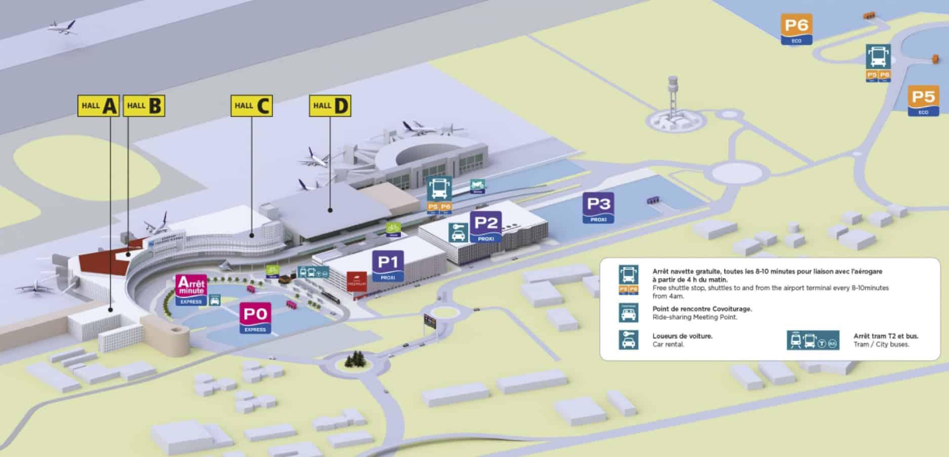 plan aeroport toulouse