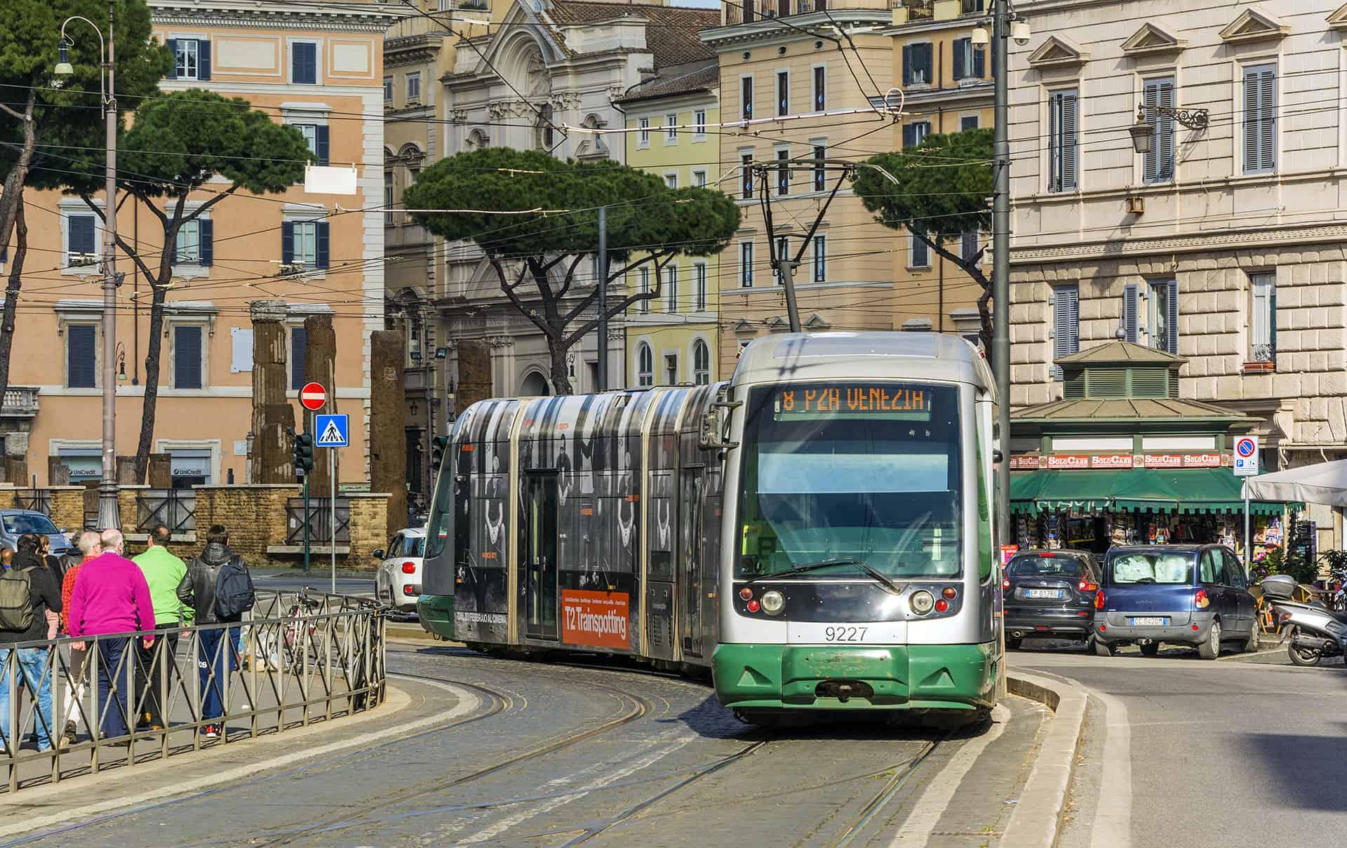 tram rome