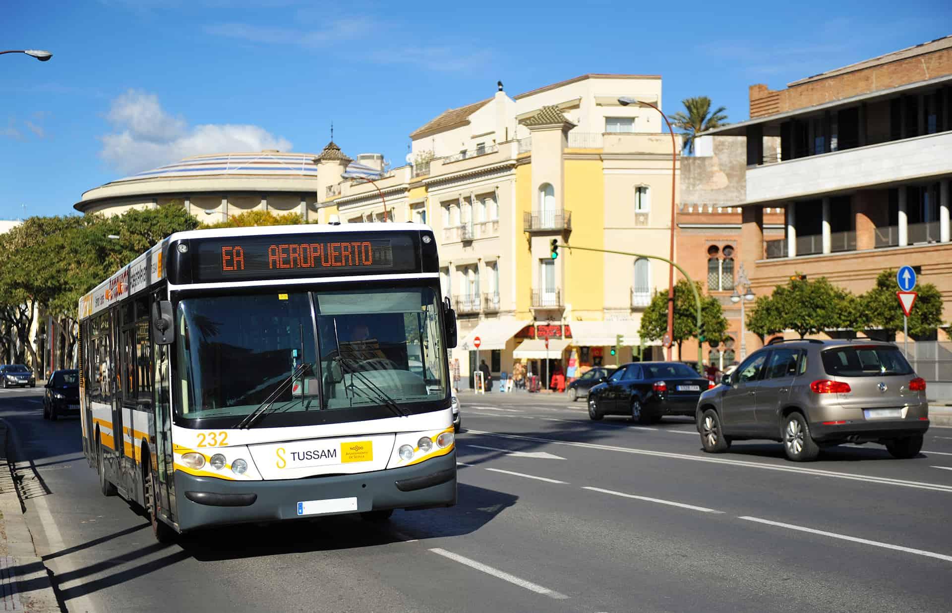 transfert bus aeroport seville