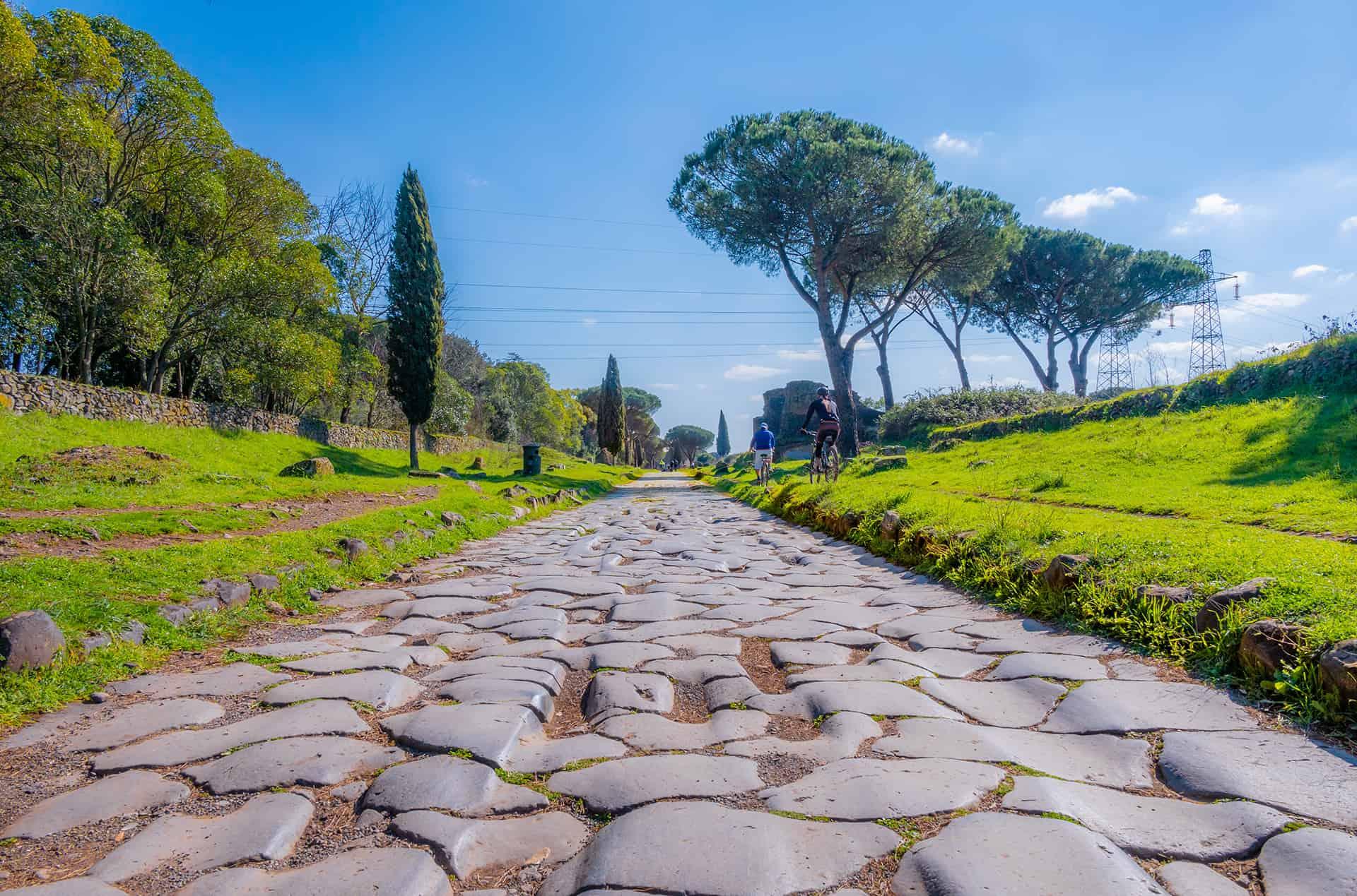 voie appienne rome