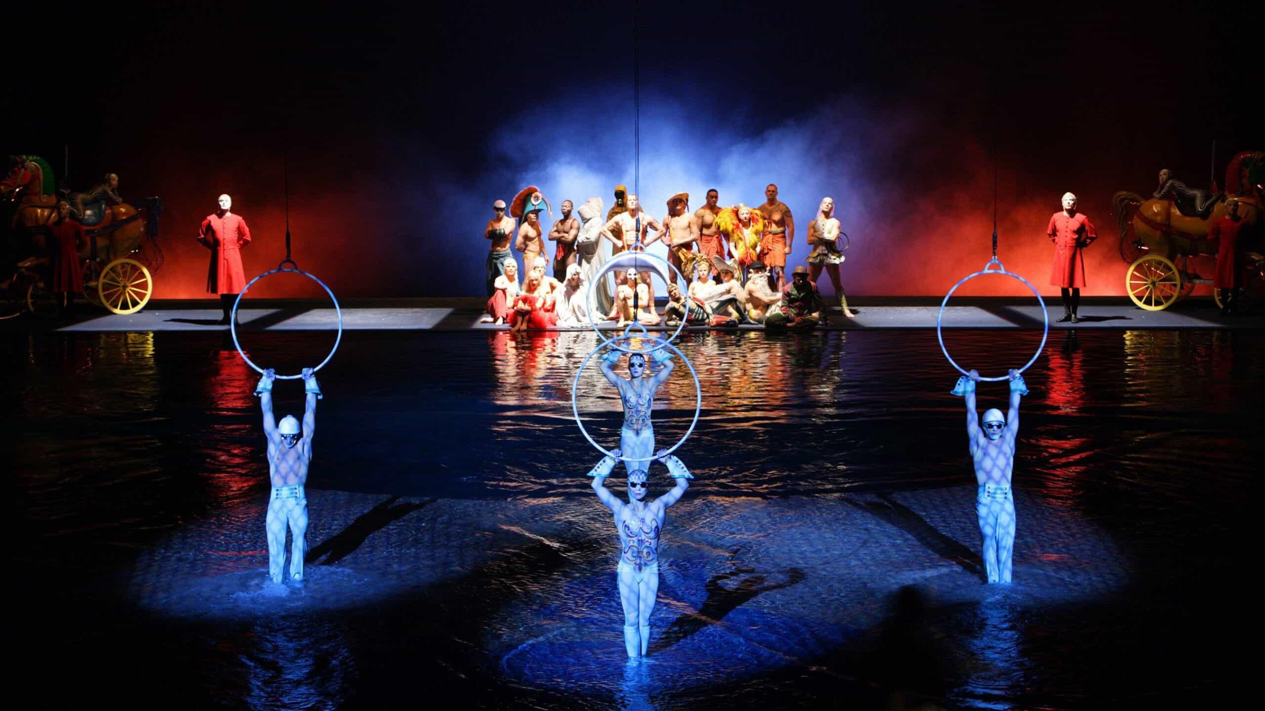 spectacle o cirque du soleil