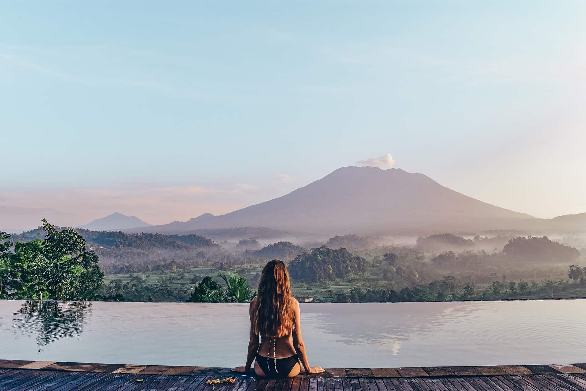 volcan bali mont agung