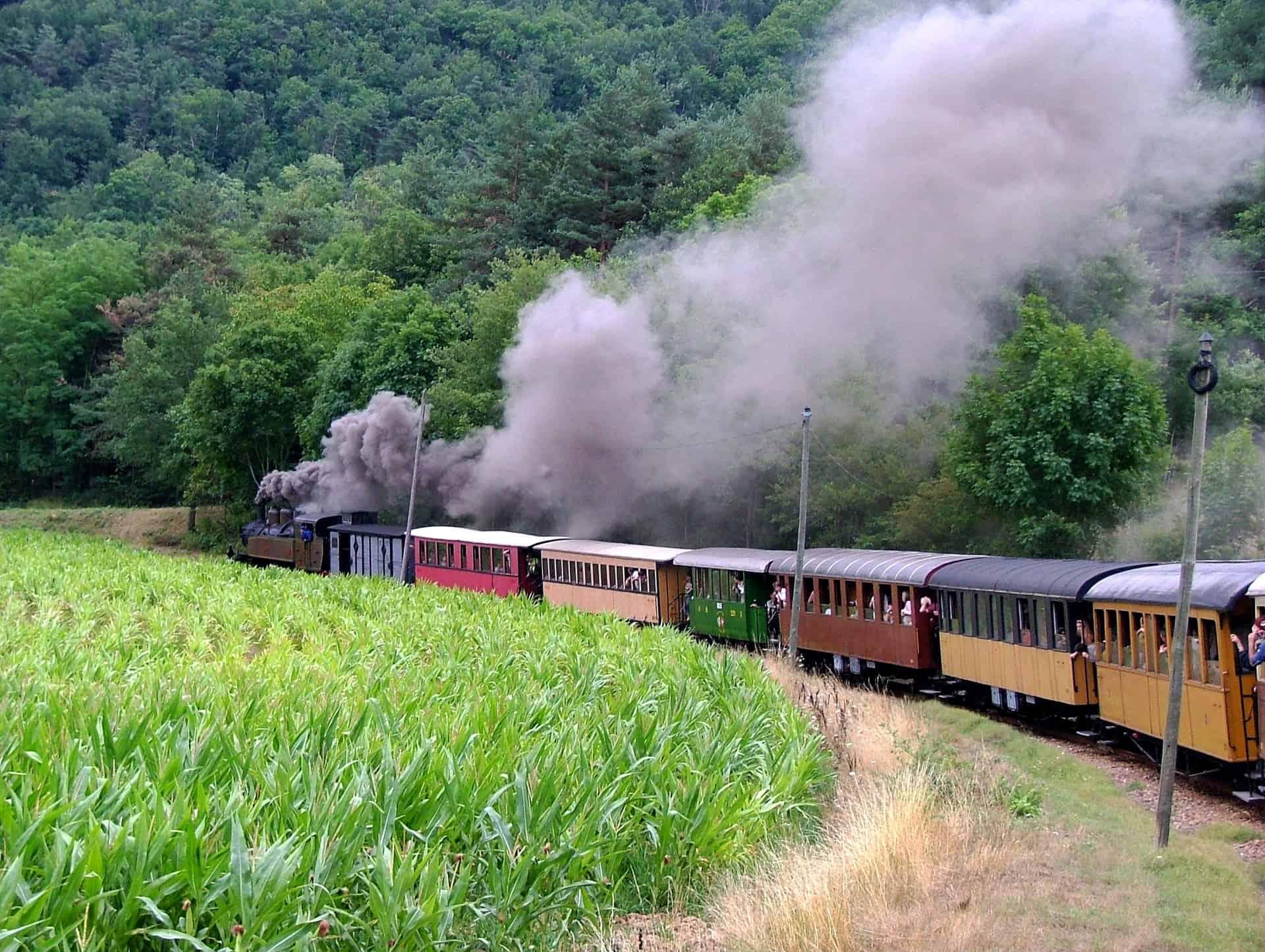 train a vapeur ardeche