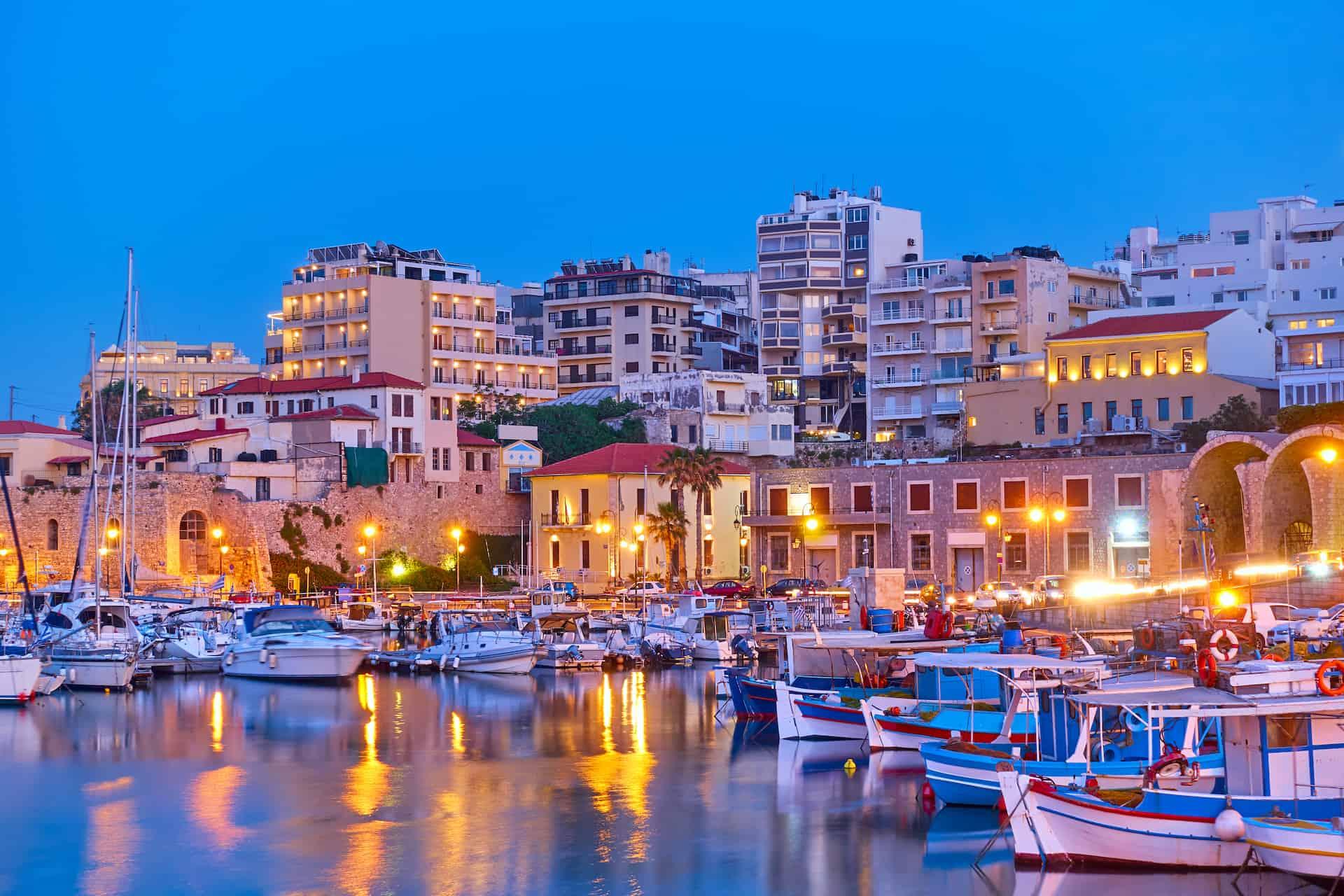 visiter crete