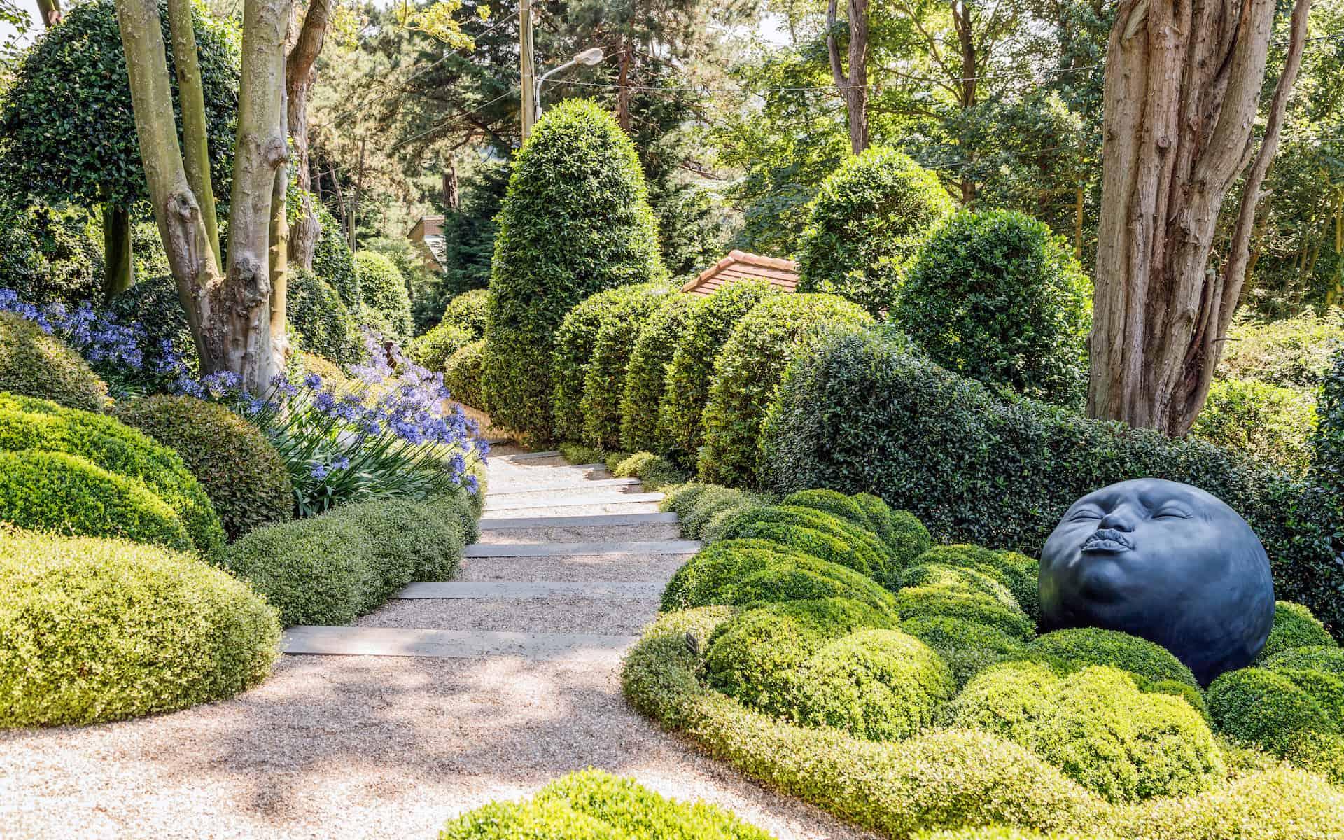 jardin etretat