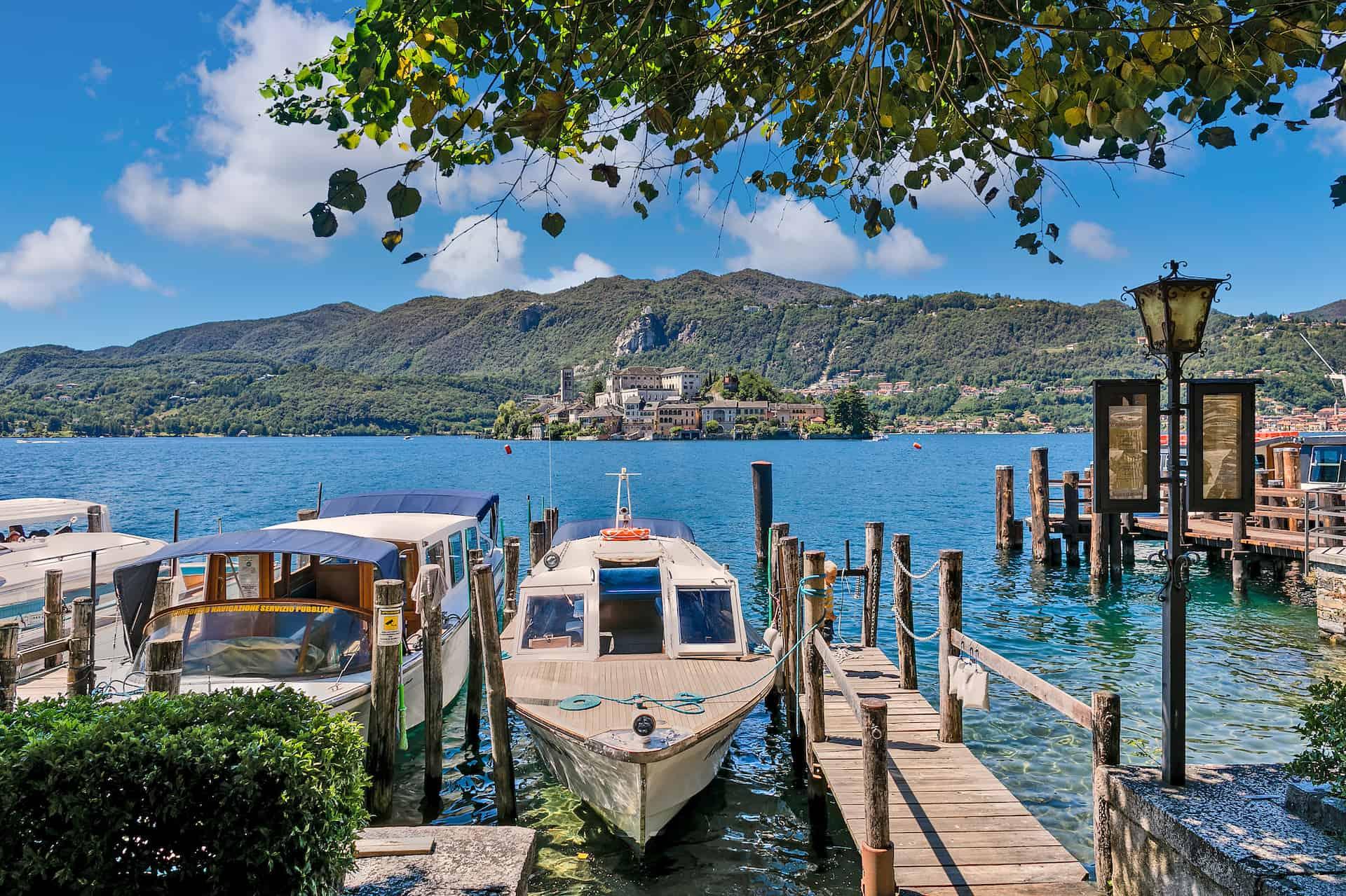 lac orta italie