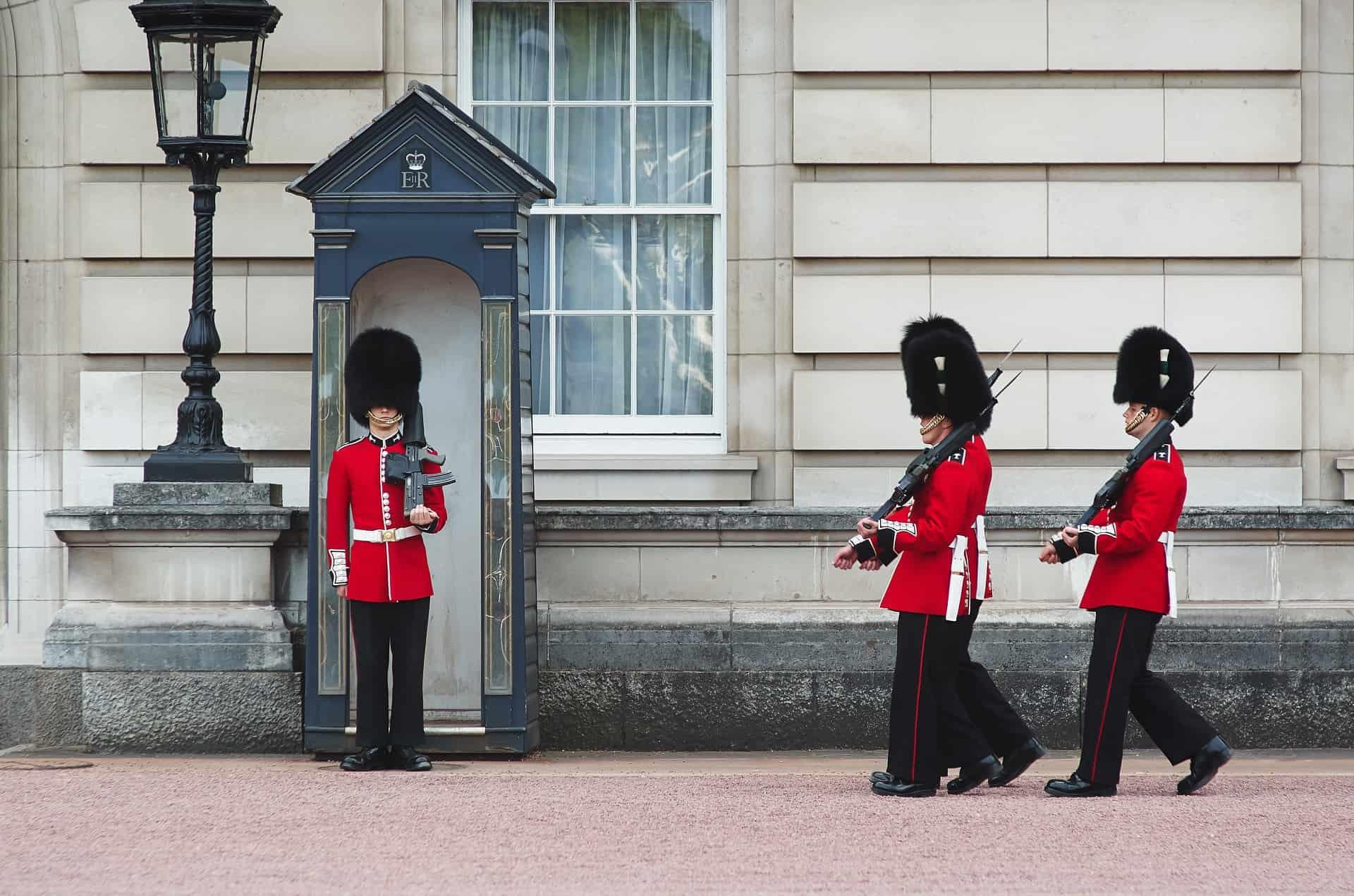 releve garde royale