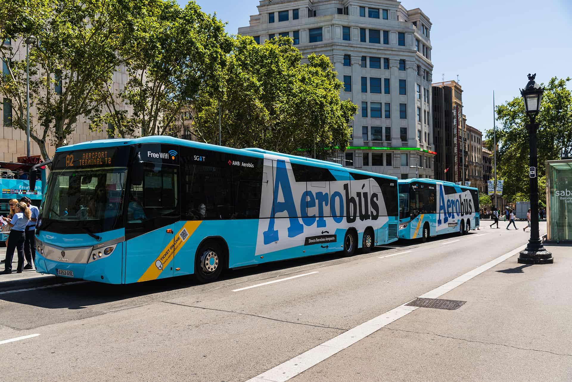 aerobus barcelone