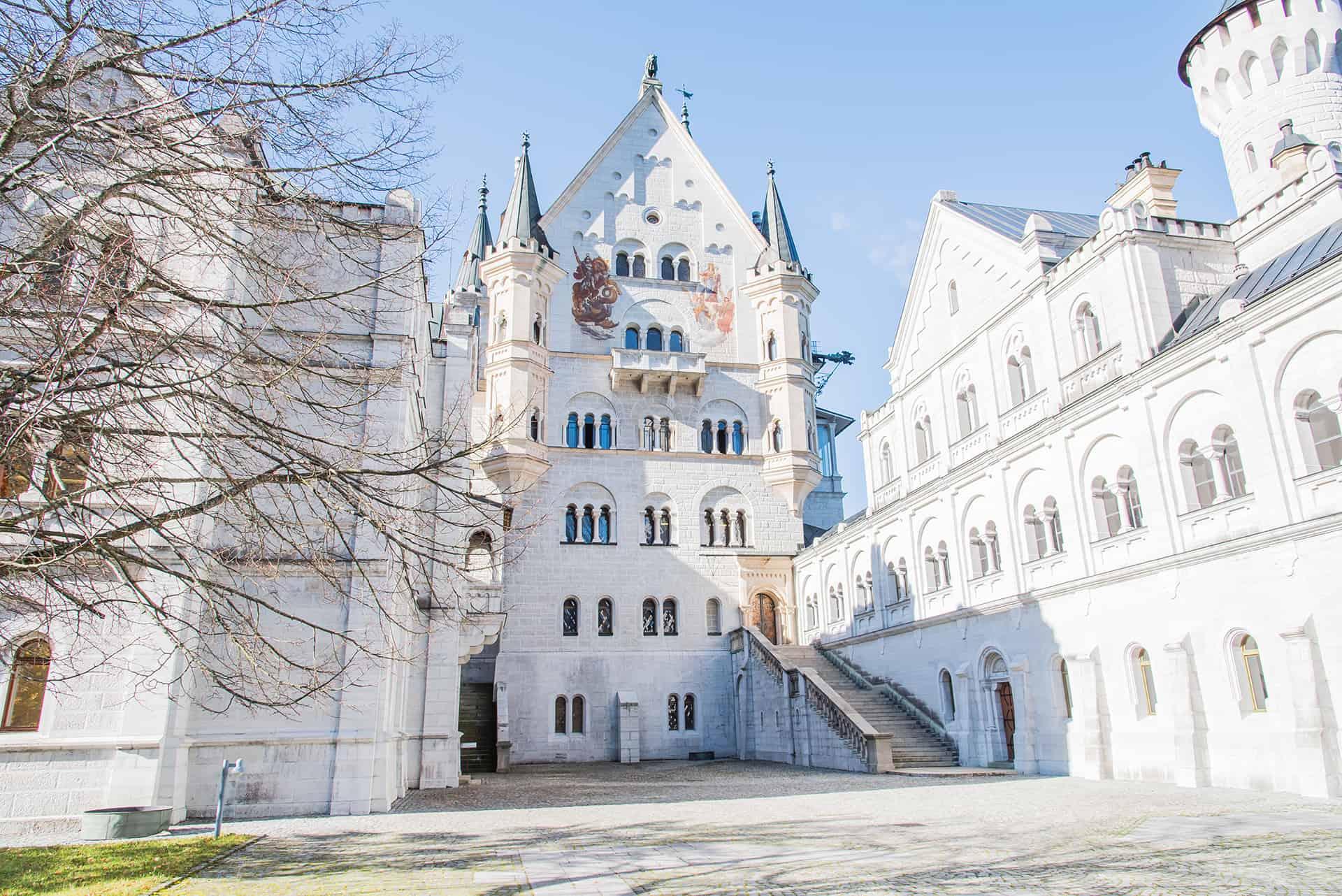 interieur chateau neuschwanstein