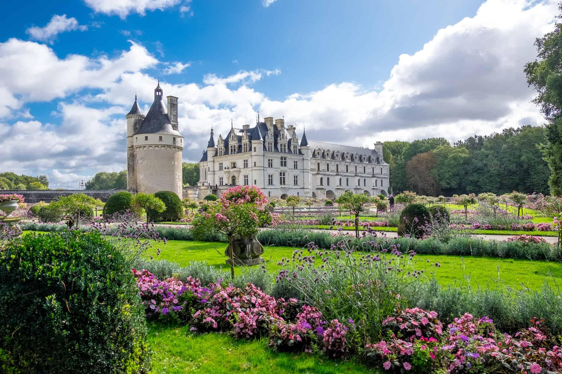 jardin chateau chenonceau